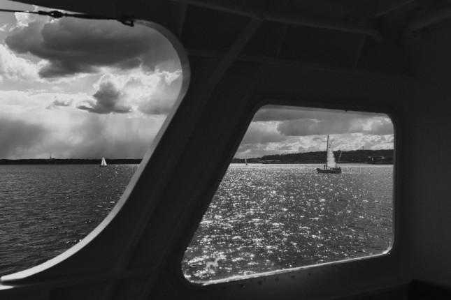 Kiel Ostsee Schiff schwarzweiß blackandwhite
